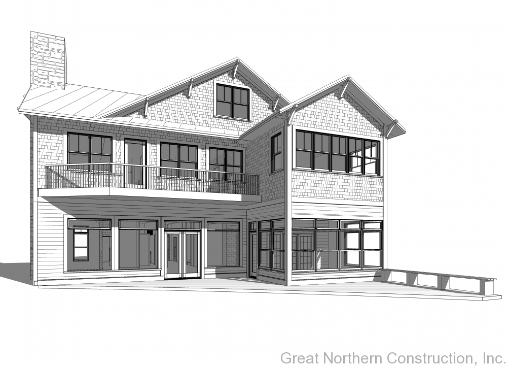 Door County Home Drawings and Home Design Plans